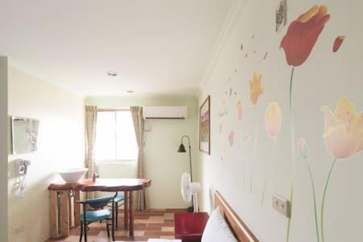 Room 3642台南(綠之房) ,2人房,近安平景點,停車方便,10坪(約30m2)?now=20190620233713
