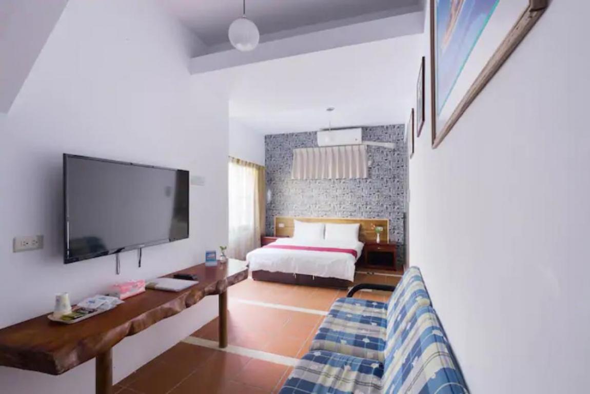 Room 3611 台南(溫馨房),雙人房,近安平景點,停車方便,9坪(約27m2)