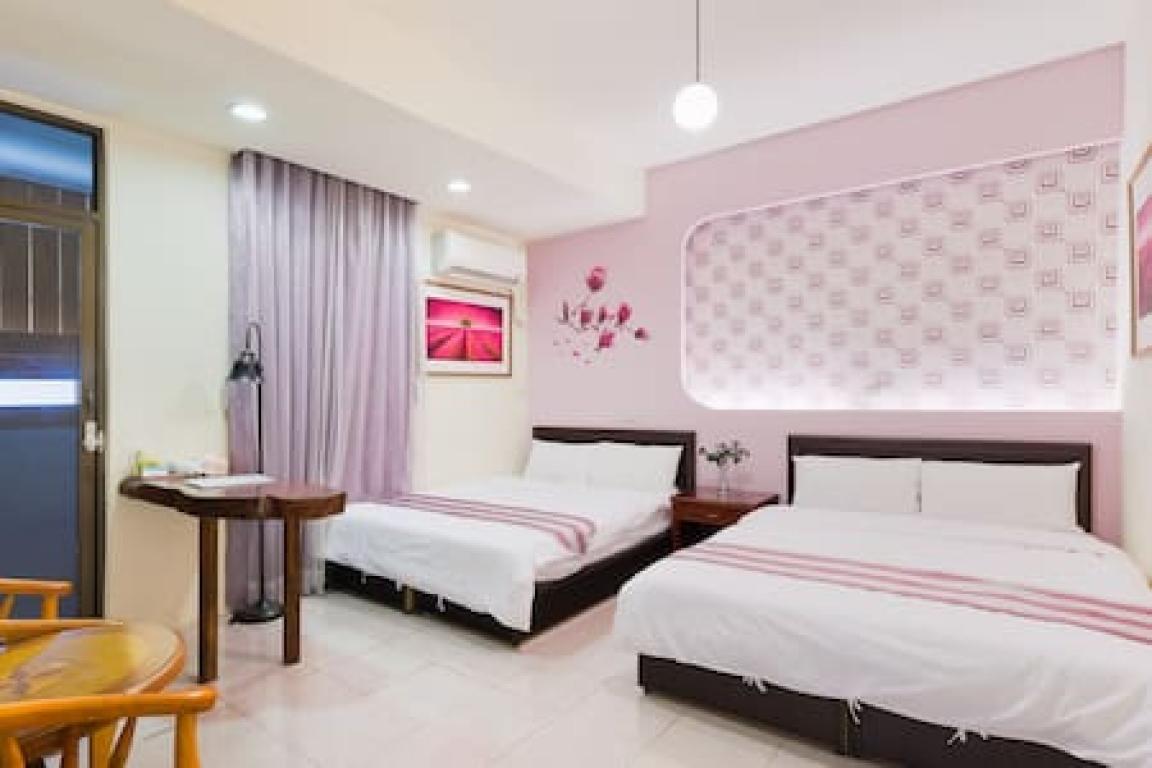 中西區-安平客棧 Room3632(紫羅蘭)