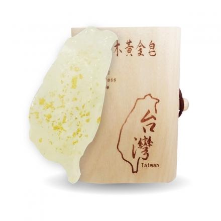 台灣平安手工皂 - 蘭花金箔(盒裝)60g