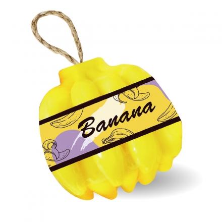 水果造型香氛皂 - 黃香蕉120g