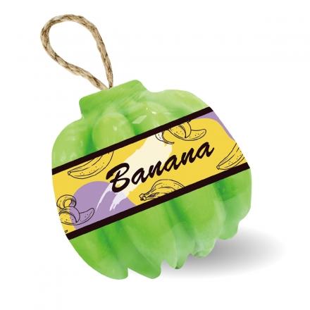 水果造型香氛皂 - 綠香蕉120g