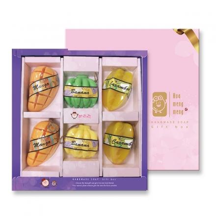 水果造型皂禮盒組